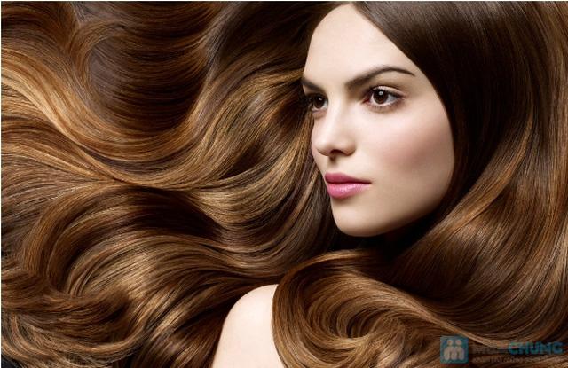 Hấp dưỡng tóc phục hồi GOLD QUALITY tại Salon tóc Hường Hà - 1