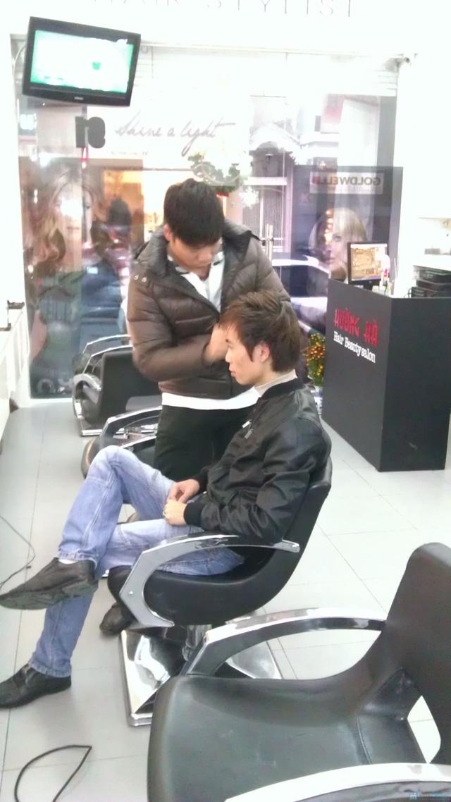 Hấp dưỡng tóc phục hồi GOLD QUALITY tại Salon tóc Hường Hà - 4