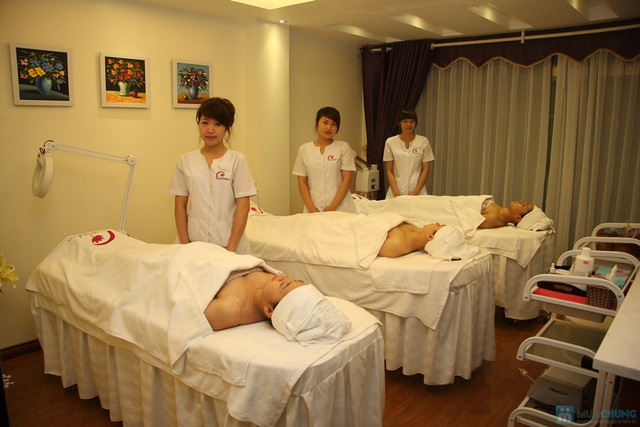 Tẩy da chết + trắng sáng bằng cám gạo và sữa non tại QT Medical Spa - 5