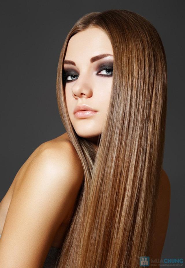 Chọn 1 trong 3 gói làm tóc: Duỗi hơi nước/Nhuộm phủ bóng nano/Uốn tại Hair Salon Ngọc Nữ - Chỉ 180.000đ được phiếu 850.000đ - 10