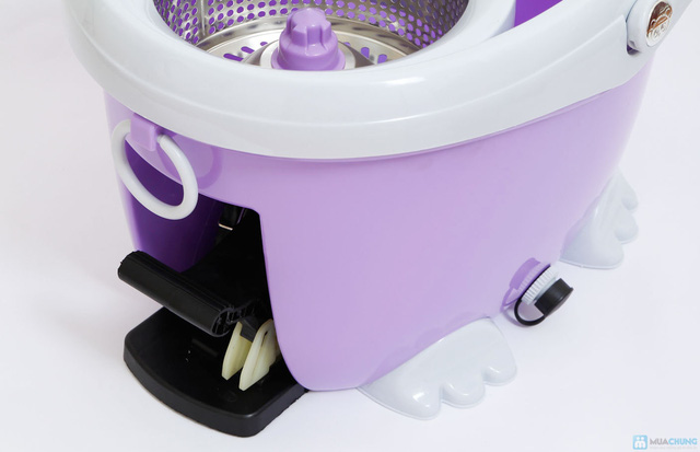 Cây lau nhà 360 độ Easy Mop lồng Inox cao cấp - 7