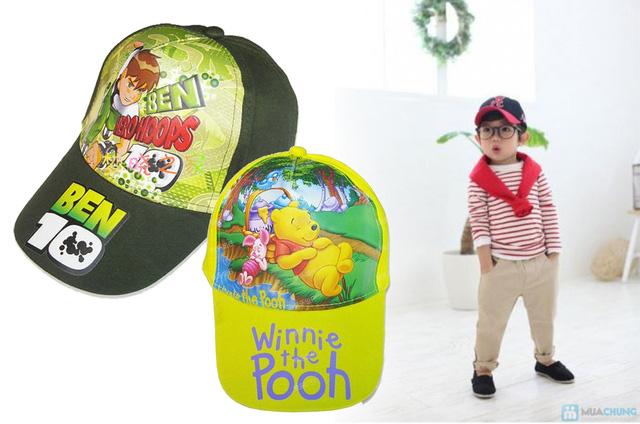 Nón lưỡi trai họa hình cho bé trai và bé gái - Chỉ 75.000đ/sản phẩm - 6