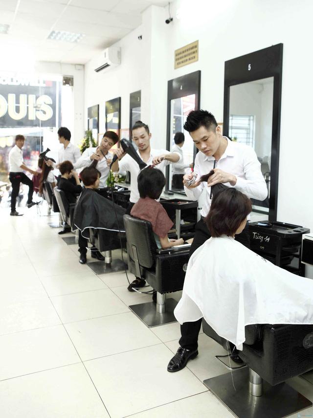 Trọn gói làm tóc tại Viện tạo mẫu tóc Louis - 13