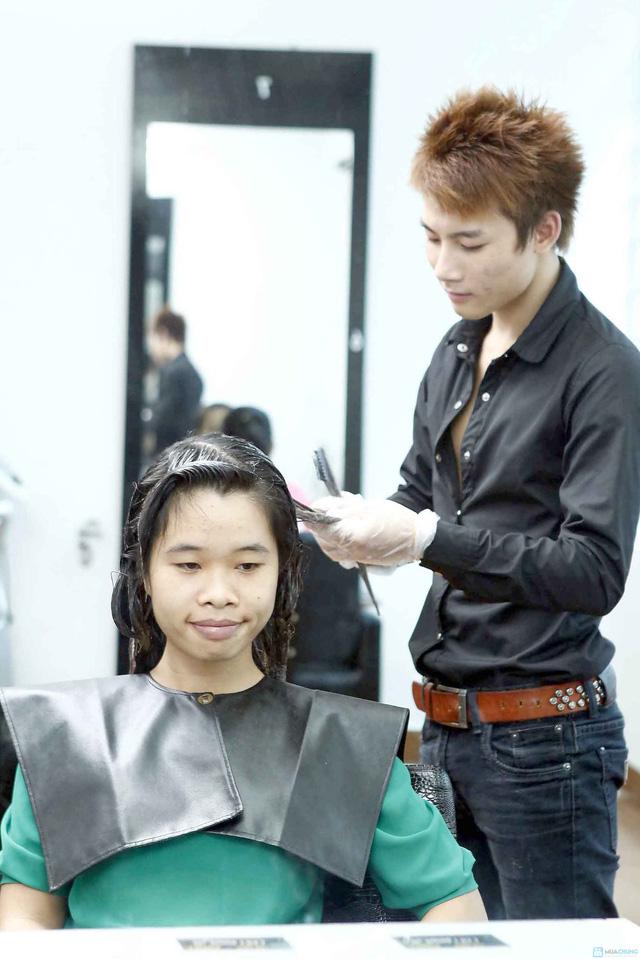 Trọn gói làm tóc tại Viện tạo mẫu tóc Louis - 7