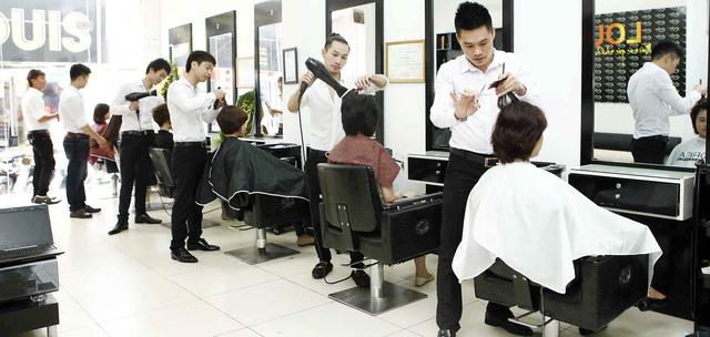 Trọn gói làm tóc tại Viện tạo mẫu tóc Louis - 12