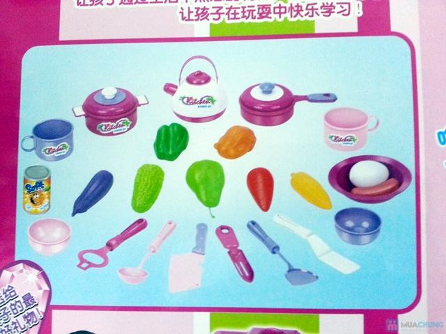 Bộ đồ chơi nấu ăn hiện đại cho bé - món quà tết Trung thu ý nghĩa - 4