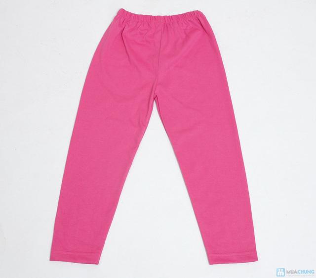 combo 3 quần legging cotton mịn cho bé gái (size 2,3) - 3