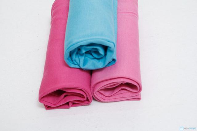 combo 3 quần legging cotton mịn cho bé gái (size 2,3) - 4
