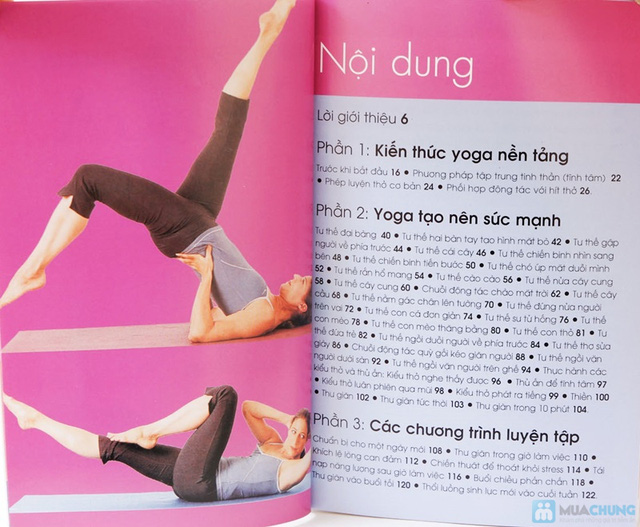 Yoga giảm stress + Yoga cho khuôn mặt đẹp. Chỉ với 90.000đ - 12