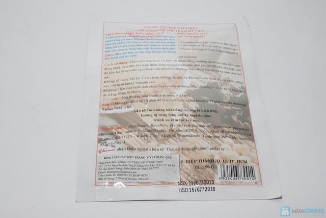 Combo 2 gói Kem tắm cát siêu trắng - 8 vị thuốc bắc - 4