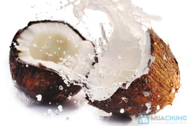 combo gồm 1 tinh dầu dừa + 1 xịt dưỡng trắng mịn da - 3