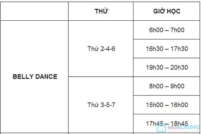 Khóa học Khiêu vũ giao tiếp hoặc Belly Dance (12 buổi) tại CLB Paris - Đà Nẵng - 1