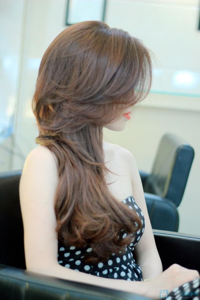 cắt uốn hoặc nhuộm hoặc ép tại sinh anh hair stylist - 24