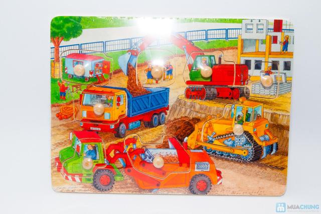 Đồ chơi xếp hình trí tuệ bằng gỗ cho bé - 2