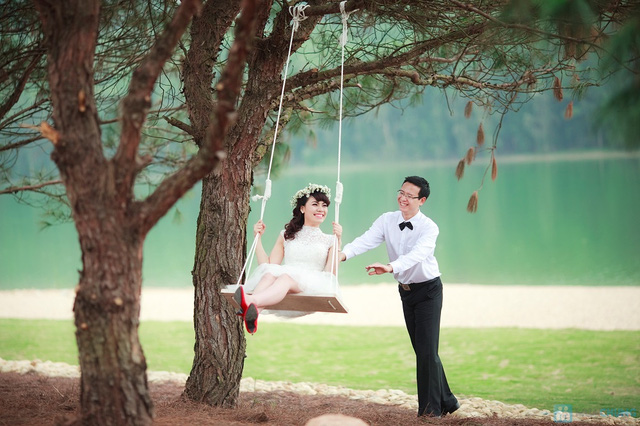 Chụp ảnh cưới tại Flamingo Đại Lải Resort  - 13
