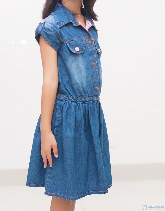 Đầm jean cho bé từ 10 - 15 tuổi - 1