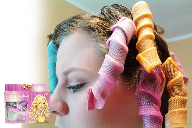 Bộ uốn tóc xoăn không dùng nhiệt Magic Leverag - 8