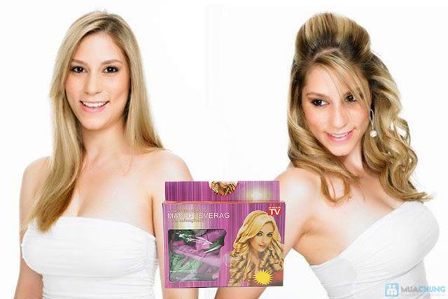 Bộ uốn tóc xoăn không dùng nhiệt Magic Leverag - 2