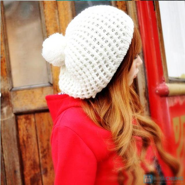 Mũ nồi len xinh xắn cho bạn gái - 2