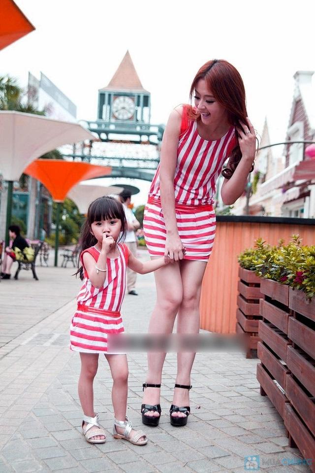 Đầm đôi cho mẹ và bé gái - 2