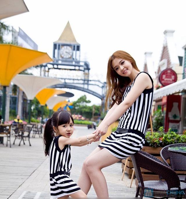 Đầm đôi cho mẹ và bé gái - 6
