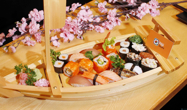 Buffet thỏa thích tại Niji sushi - 16