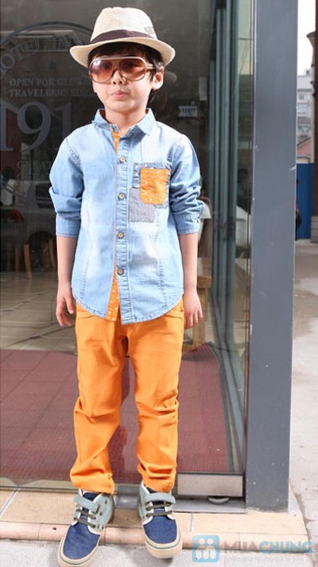 áo bò hàng xuất khẩu cho bé trai ( Size 8 đến 12 tuổi ) - 4