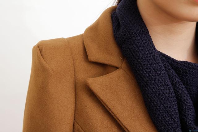 Blazer dạ dáng dài phong cách Hàn Quốc - 7
