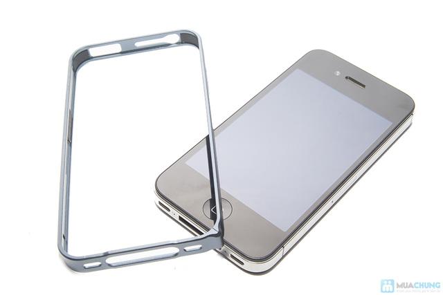 Combo viền nhôm iphone 4/4S và nút home nhôm - 3