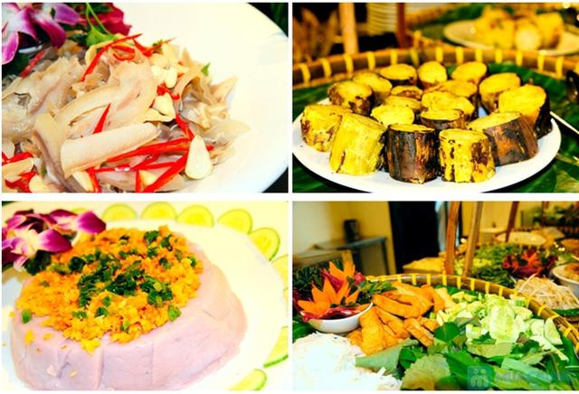 Buffet Gánh dành cho buổi trưa với hơn 40 món ăn đặc sắc 3 miền - Khách sạn Bông Sen - 7