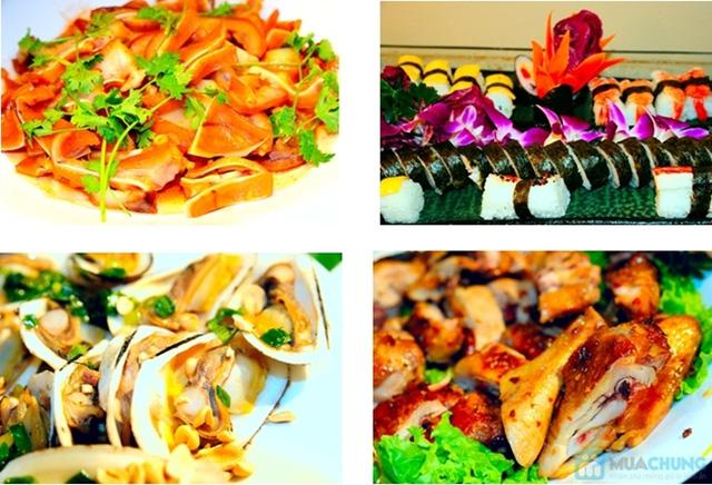 Buffet Gánh dành cho buổi trưa với hơn 40 món ăn đặc sắc 3 miền - Khách sạn Bông Sen - 6