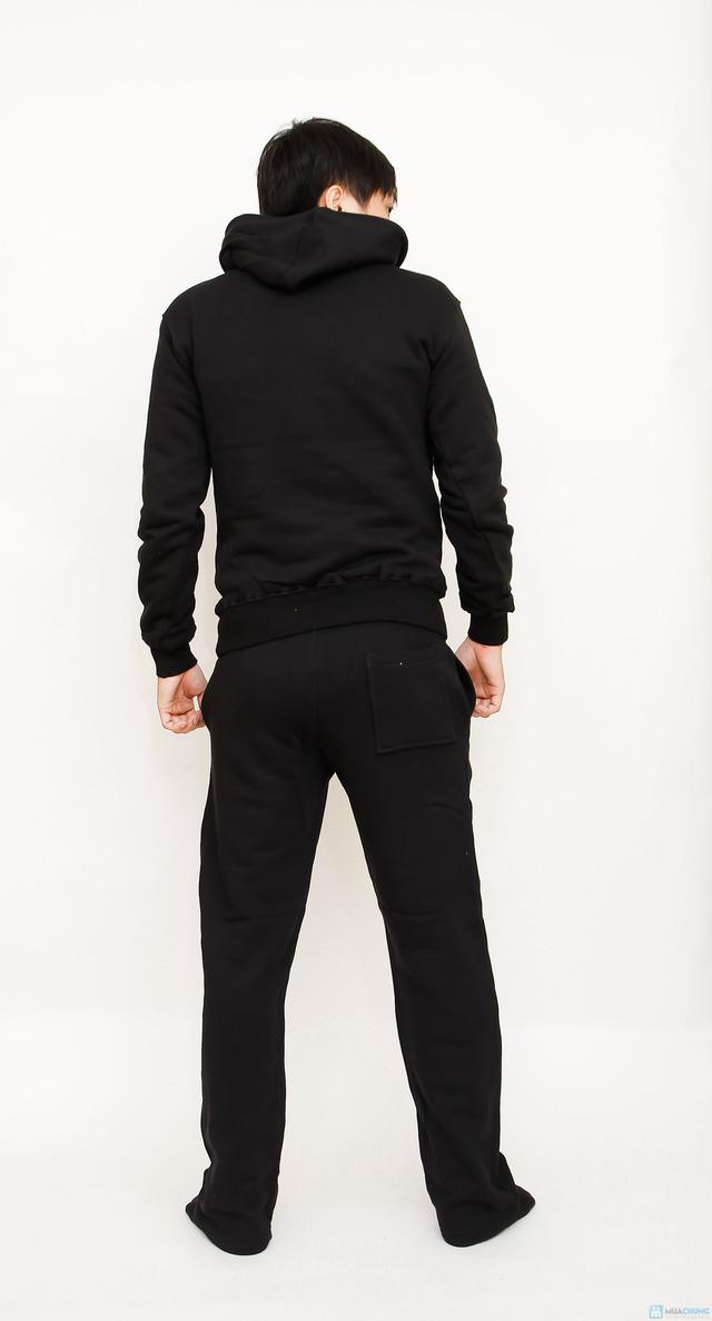 bộ đồ nỉ thể thao cao cấp cho nam - 5