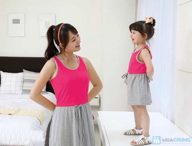 Đầm đôi cho mẹ và bé - 2