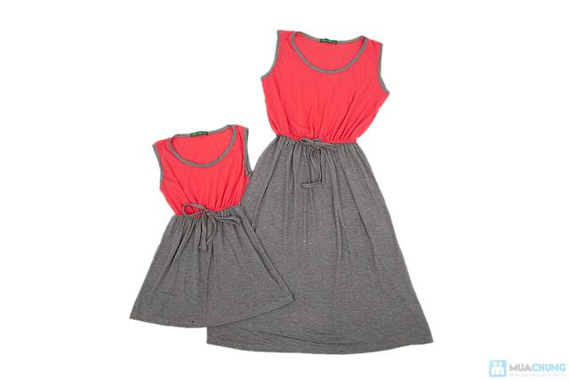 Đầm đôi cho mẹ và bé - 7