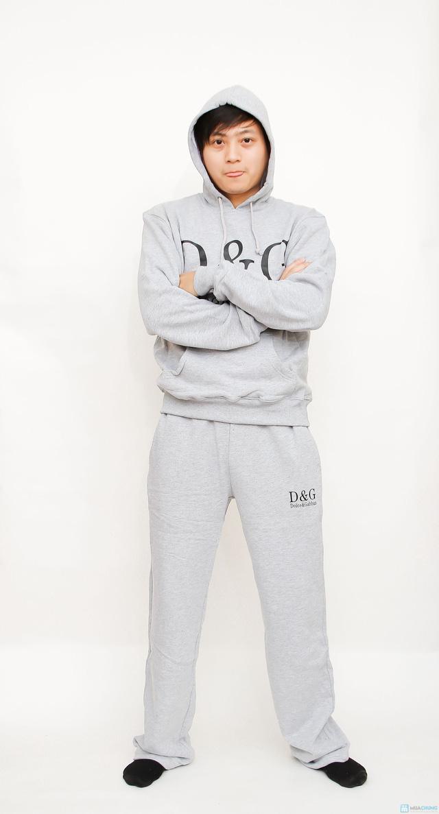 bộ đồ nỉ thể thao cao cấp cho nam - 16