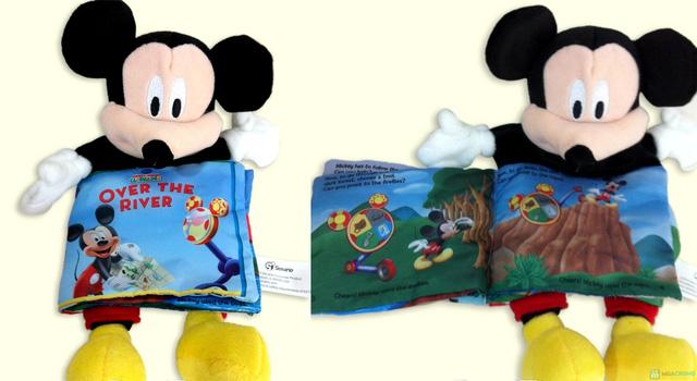 Sách vải kèm rối tay cho bé - 12