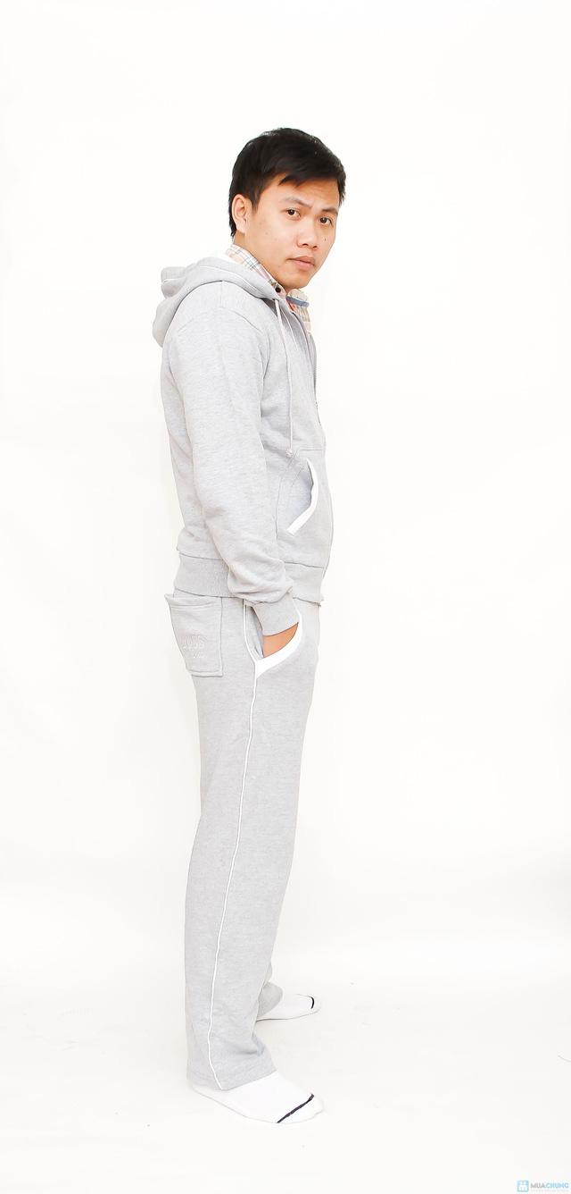 bộ đồ nỉ thể thao cao cấp cho nam - 3