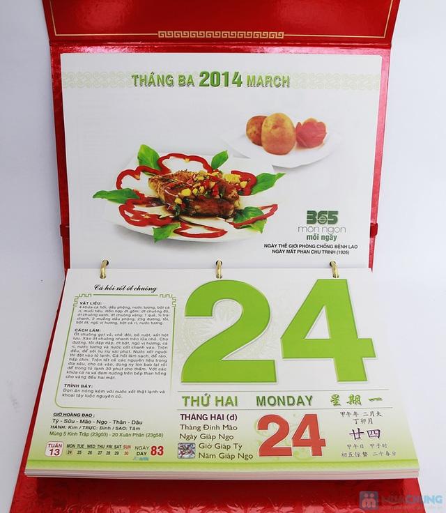 Sách lịch 365 món ăn AH04. Chỉ với 287.000đ - 3