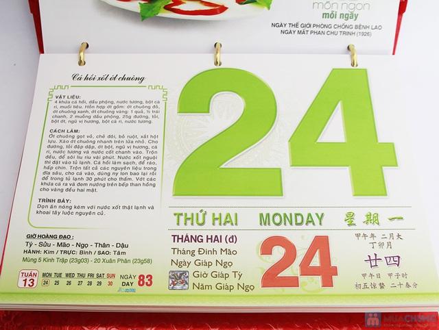 Sách lịch 365 món ăn AH04. Chỉ với 287.000đ - 4