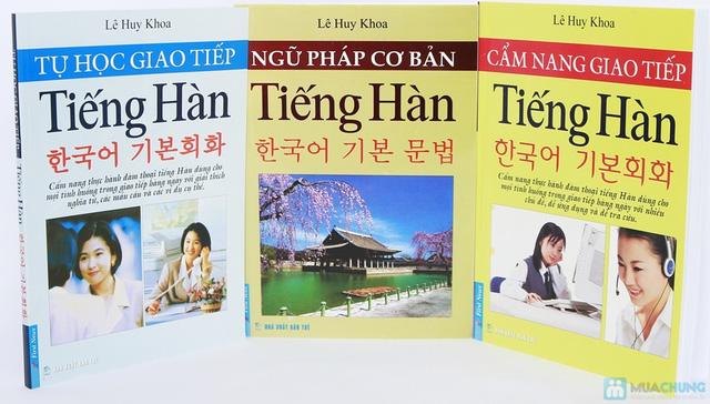 Cẩm nang giao tiếp tiếng Hàn + Tự học giao tiếp tiếng Hàn + Ngữ pháp cơ bản tiếng Hàn. Chỉ với 112.000đ - 1