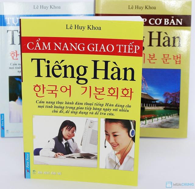 Cẩm nang giao tiếp tiếng Hàn + Tự học giao tiếp tiếng Hàn + Ngữ pháp cơ bản tiếng Hàn. Chỉ với 112.000đ - 6