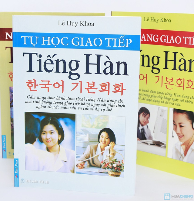 Cẩm nang giao tiếp tiếng Hàn + Tự học giao tiếp tiếng Hàn + Ngữ pháp cơ bản tiếng Hàn. Chỉ với 112.000đ - 2