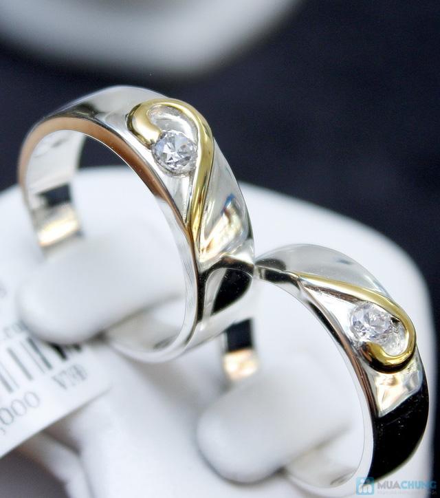 Nhẫn đôi bạc cao cấp Thành Phát - 23