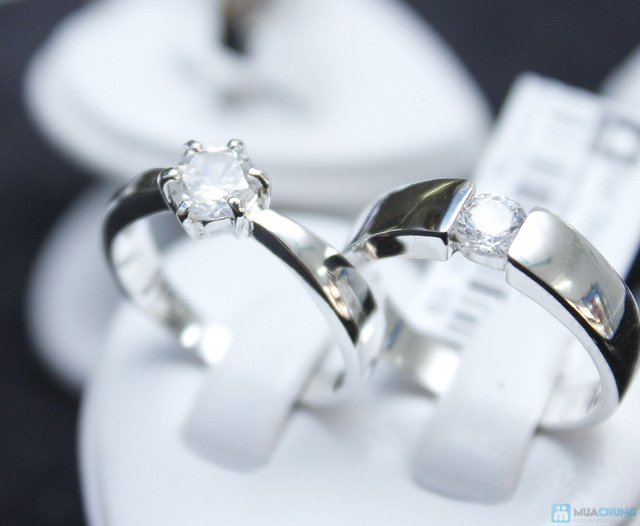 Nhẫn đôi bạc cao cấp Thành Phát - 8
