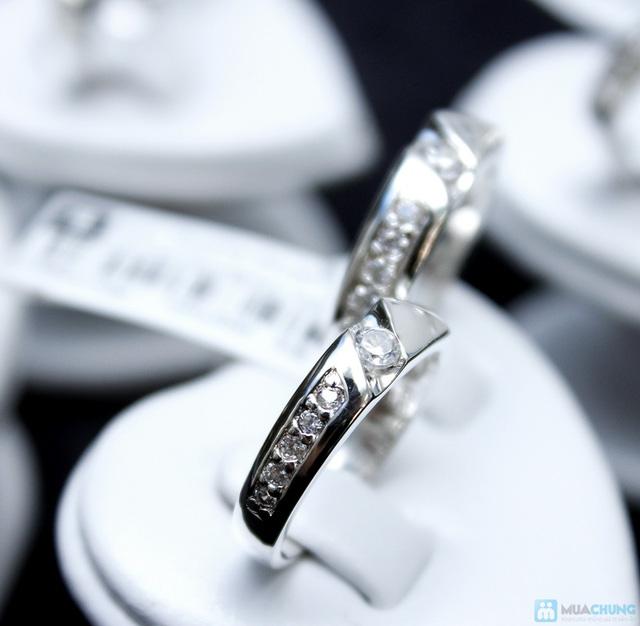 Nhẫn đôi bạc cao cấp Thành Phát - 13