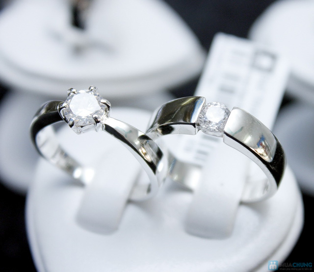 Nhẫn đôi bạc cao cấp Thành Phát - 9
