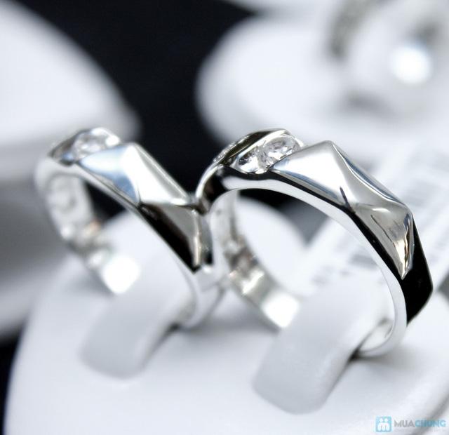 Nhẫn đôi bạc cao cấp Thành Phát - 15