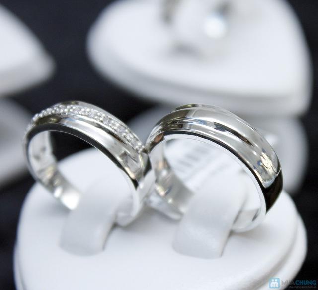 Nhẫn đôi bạc cao cấp Thành Phát - 19