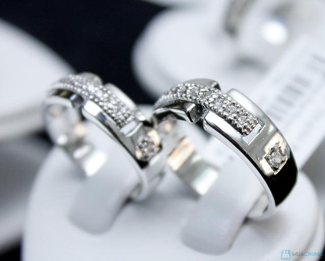 Nhẫn đôi bạc cao cấp Thành Phát - 16