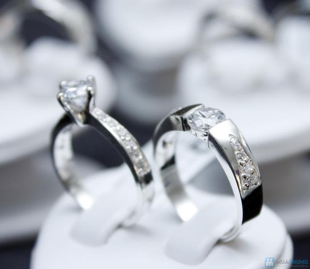 Nhẫn đôi bạc cao cấp Thành Phát - 1